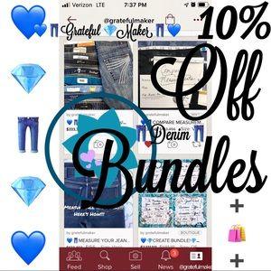 EUC!💙👖💙10% Off Coupon for Bundling Only! BUNDLE